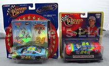 Set of 2 Winner's Circle Double Platinum & 50th Anniv Jeff Gordon 24 Bugs Bunny