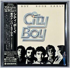 City BOY Book Early Orig. 2011 Factory Seal JAPAN Mini LP CD AIRAC-1635 NEW