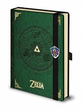 A5 Premium Zelda Notepad Journal Pad Legend Of Zelda Nintendo Leather Look Gift