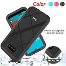For LG K31/Phoenix 5/Aristo 5 Hybrid Shockproof TPU Case Clear Ultra Slim Cover