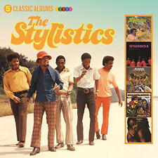 The Stylistics : 5 Classic Albums CD (2017) ***NEW***