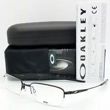 6d5a30cbd3 NEW Oakley OX3133 RX Prescription Frame Black OX3133-0251 51mm Rimless Half  Rim