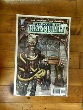 WS Wildstorm Welcome To Tranquility #2 Unread Condition