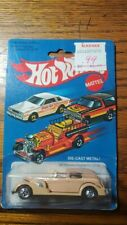 Hot Wheels '35 Classic Caddy #3252 Package 1981 Tan