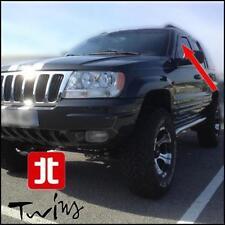 Deflettori Aria Antiturbo Anteriori Oscurati Jeep Grand Cherokee WJ 1999-2005