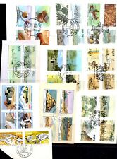 South West Africa kiloware - 108 different stamps from First Day Covers (62S)