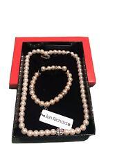 Jewellery Set Pearl Effect