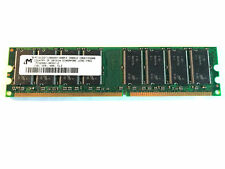 Micron RAM 1GB DIMM DDR 400MHz 184 pin 2.5V PC3200 Desktop Memory - REFURBISHED
