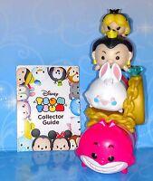 4 Alice in Wonderland Tsum Tsum Disney Queen, Rabbit Mystery Stack Stand vinyl