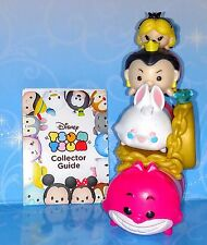 4 Alice in Wonderland Tsum Tsum Disney Queen, Rabbit Mystery Stack Stand vinyl