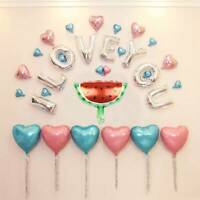 16'' Fruit Themed Foil Balloons Baby Shower Children Birthday Party Decor Summer