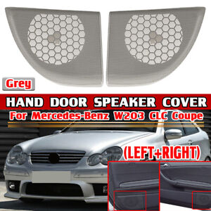 For Benz Mercedes CL203 C Class Coupe / CLC Right & Left Door Speaker Cover Gray