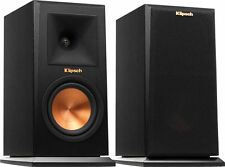 PAIR BOOKSHELF SPEAKERS KLIPSCH RP-150M RP150M BRAND NEW ! EBONY - WARRANTY