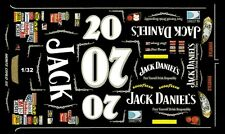 #07 Clint Bowyer Jack Daniels 2006 1/32nd Scale Slot Car Waterslide Decals