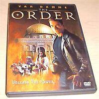 The Order - action thriller - DVD - Jean-Claude Van Damme / Charlton Heston