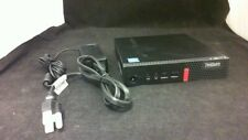 Lenovo ThinkCentre M710q Pentium 4400T CPU, No HDD, w/ Adapter -- See Condition