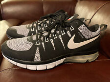 Nike Air Max TR180 Amp Mens Size 11.5 Black Training Shoes Lace Up (723973-016)