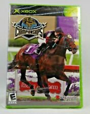 Breeders' Cup World Thoroughbred Championships ( Xbox, 2005) Plastic Tore !