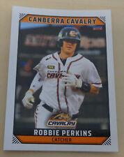 Robbie Perkins 2018/19 Australian Baseball League card - Canberra Cavalry