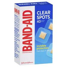 BAND-AID Clear 40 Sterile Spots INVISIBILE Protection