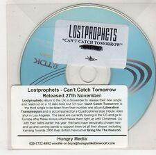 (GU586) Lost Prophets, Can't Catch Tomorrow - DJ CD