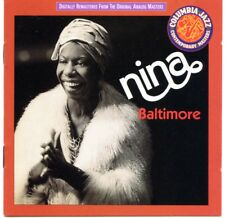 NINA SIMONE - Baltimore [Remaster] CD NEW - Eric Gale, Jerry Friedman, Will Lee