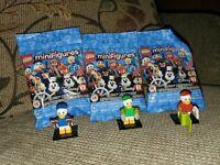 LEGO Disney Series 2 Minifigures 71024 - Huey Dewey & Louie All Sealed in Pack!