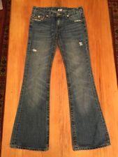 True Religion Denim Mid-Rise Boot Cut Jeans for Women