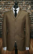 Three Button Single Breasted Suits for Men Slim Suits & Tailoring