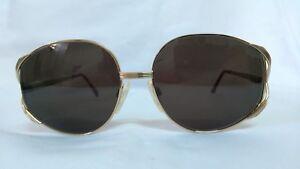 Vintage Womens Oversized Hilton sunglasses glasses eyeglasses italy.