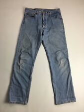 LEVI'S 501 Jeans - W32 L30 - Faded Navy Wash - Great Condition