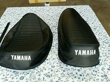 Yamaha RD350 R5 350 1970-1972 DS7 Seat Cover Black with strap(Y6)