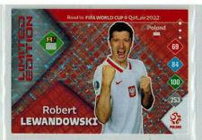 Panini Road to World Cup 2022  Adrenalyn XL Robert Lewandowski Limited Edition