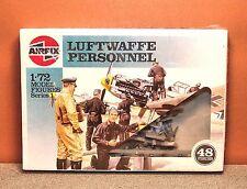 1/72 AIRFIX LUFTWAFFE PERSONNEL MODEL KIT # 01755