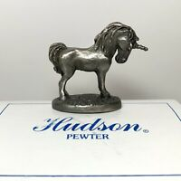 Hudson Pewter, Noah's Ark Collection, # 5468 Female Unicorn in Orig Box, Retired