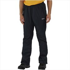 REGATTA MENS CHANDLER III WATERPROOF BREATHABLE OVER TROUSERS BLACK RMW244