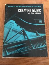 Creating Music At The Piano Blue Book Teo