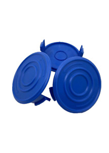 3 Pack Replacement Trimmer Spool Caps for Kobalt 40-Volt Trimmer