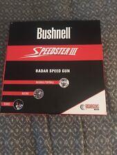 Bushnell Speedster III Speed Radar Gun With Original Box