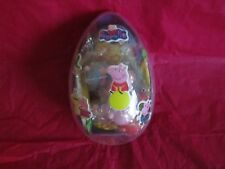 LARGE PEPPA PIG SURPRISE EGG CHOCOLATE SWEETS TOY
