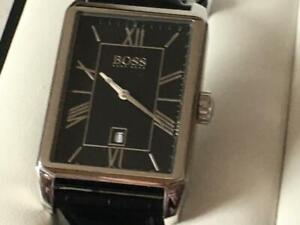 Hugo Boss watch and cufflinks
