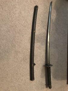 "WWII Antique Officer Japanese katana sword 27"""