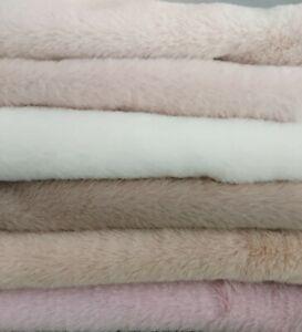 NEU:Kuschelfellchen, 25 x 70 cm,beige + Cashmere + Schnittmuster - 6 Farben 🤍