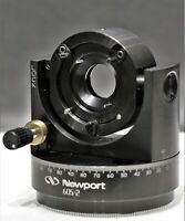 Newport 605-2  Low-distortion Axial Clamping Gimbal Optic Mount