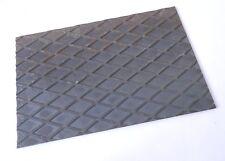 lamiera striata in ferro lastra quadrata taglio laser spessore 3 mm dim.400x400