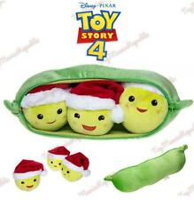 "Disney Toy Story 4 Three-Peas-in-a-Pod Christmas Holiday Plush Medium 17"" - NEW"