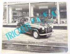 Original Very Large Press Photo Austin 1950s A30 Saloon - Gosforth Motor co ltd