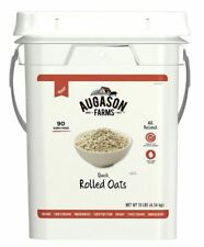 Emergency Food Supply Quick Rolled Oats Pail 90 Servings Storage Meal Survival