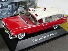 1/43 Atlas Cadillac Miller-Meteor Ambulance Collection Ambulanz Krankenwagen