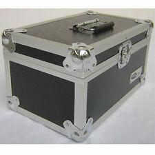 "7"" Singles Vinyl Record Aluminium DJ Flight Carry Case 200 Tough Strong Neo"